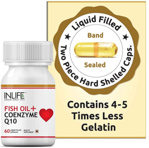 Inlife Fish Oil Coenzyme 10 Supplement